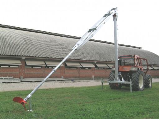 DODA ALPI keverőlapátos traktor meghajtással